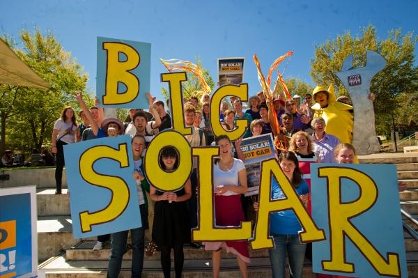 Big Solar launch